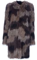 Meteo By Yves Salomon Lamb Fur Gilet - Lyst