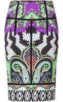 Etro Paisley Print Pencil Skirt - Lyst