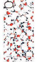 Marc By Marc Jacobs White Floral Print Iphone 4 Case - Lyst