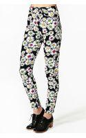 Nasty Gal Neon Daisy Skinny Jeans - Lyst