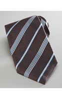Giorgio Armani Textured Striped Tie  - Lyst