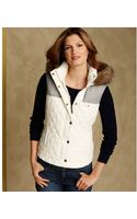 Tommy Hilfiger Sleeveless Quilted Puffer - Lyst