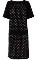 Tibi Laser Cut Dress - Lyst