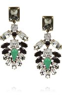J.Crew Casati Cubic Zirconia and Crystal Earrings - Lyst