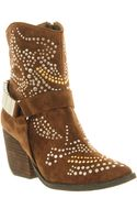 Jeffrey Campbell Shane Ankle Boot Brown Leather - Lyst
