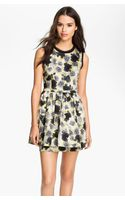 Juicy Couture Floral Frilly Dress - Lyst