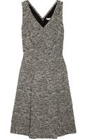 Oscar de la Renta Cottonblend Tweed Dress - Lyst