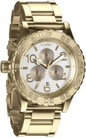 Nixon The 4220 Chrono Watch - Lyst
