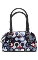 Coach Madison Graphic Op Art Small Bag - Lyst