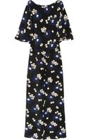 Marni Printed Silk Crepe Gown - Lyst