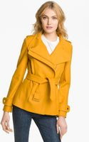 Ted Baker Funnel Neck Wool Blend Jacket - Lyst