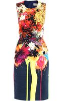 Preen By Thorton Bregazzi Splash Bloomprint Dress - Lyst