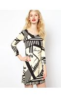 Sonia By Sonia Rykiel Graphic Print Jersey Dress - Lyst
