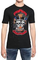 DSquared2 Distressed Cotton Linen Jersey T-Shirt - Lyst