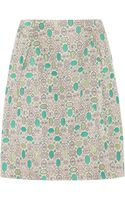 Marni Brocade Skirt - Lyst