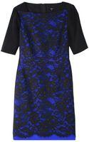Tibi Epstein Lace Short Sleeve Dress - Lyst