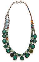 Tom Binns Faux Real Crystal Necklace - Lyst