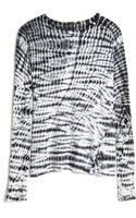 Proenza Schouler Tie Dye Long Sleeve Tee - Lyst
