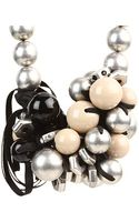 Marc By Marc Jacobs Bolts Galore Bubble Necklace - Lyst