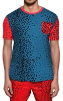 Adidas Originals x Opening Ceremony Leopard Printed Jersey Tshirt - Lyst