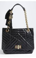 Lanvin Happy Quilted Leather Shoulder Bag - Lyst