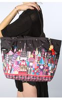 Lesportsac The Disney X Lesportsac Picture Tote Bag with Charm in Midnight Harmony - Lyst