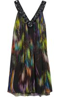 Matthew Williamson Printed Silk Chiffon Dress - Lyst
