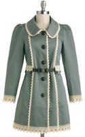 ModCloth Wishing Well Acquainted Coat - Lyst