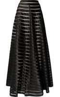 Temperley London Satin and Tulle Maxi Skirt - Lyst