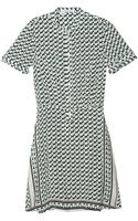 10 Crosby Derek Lam Printed Dress - Lyst
