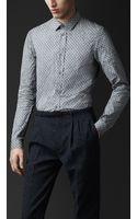 Burberry Prorsum Classic Fit Oak Leaf Shirt - Lyst