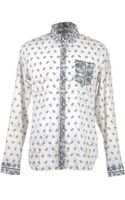 Balmain Long Sleeve Shirt - Lyst
