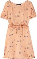 Marc By Marc Jacobs Finch Printed Silk Dress - Lyst