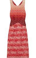 Missoni Metallic Crochet Knit Dress - Lyst