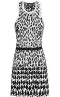 McQ by Alexander McQueen Jacquard Knitted Dress - Lyst