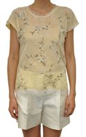Valentino Top with Embroidered Lace - Lyst
