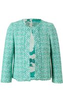 Giambattista Valli Tailored Tweed Jacket - Lyst