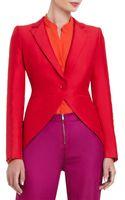 BCBGMAXAZRIA Noah Tailored Long-Sleeve Jacket - Lyst