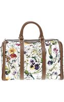 Gucci Floral Tote - Lyst