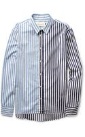 Marni Striped Cotton Shirt - Lyst