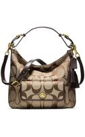 Coach Legacy Signature Courtenay Hobo - Lyst