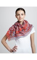 Marc By Marc Jacobs Check Scarf - Lyst