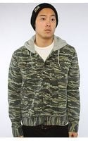 LRG The Og Army Jacket in Tiger Camo - Lyst