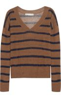 Kain Nell Striped Linen-blend Sweater - Lyst