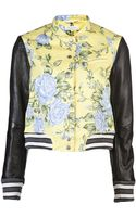 Rag & Bone Contrast Jacket - Lyst