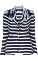 Ralph Lauren Blue Label Striped Blazer - Lyst