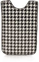 Topshop Dogtooth Phone Sleeve - Lyst