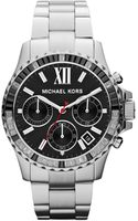 Michael by Michael Kors Midsize Silver Color Stainless Steel Everest Chronograph Watch - Lyst