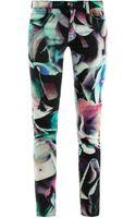 J Brand Hydrangea Print Skinny Jeans - Lyst