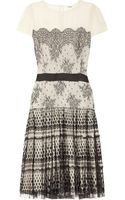 Temperley London Mia Silkchiffon and Lace Dress - Lyst
